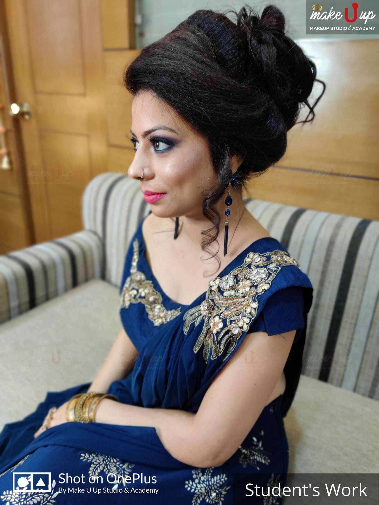 bridal makeup poses