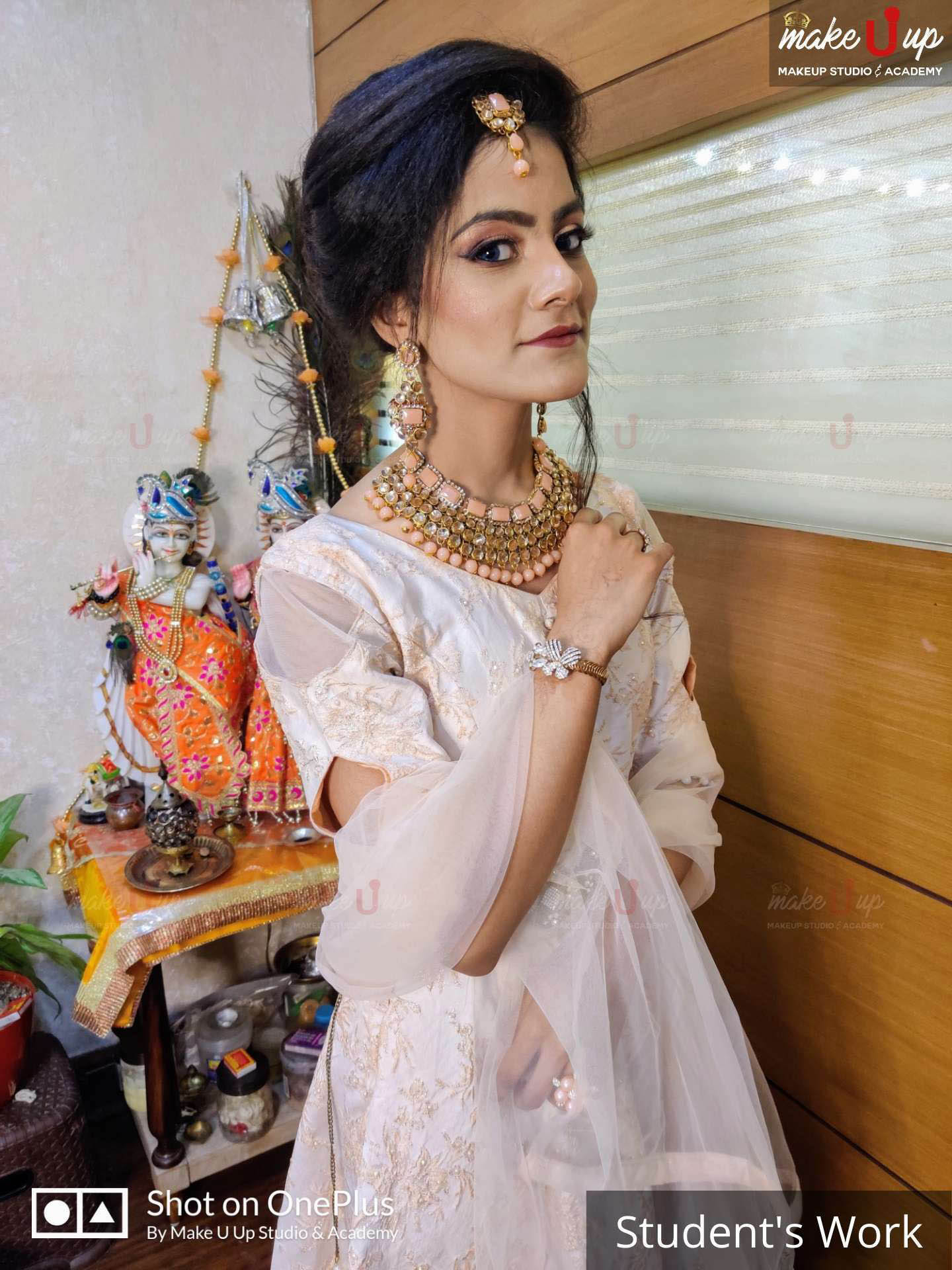 easy hairstyle for wedding function