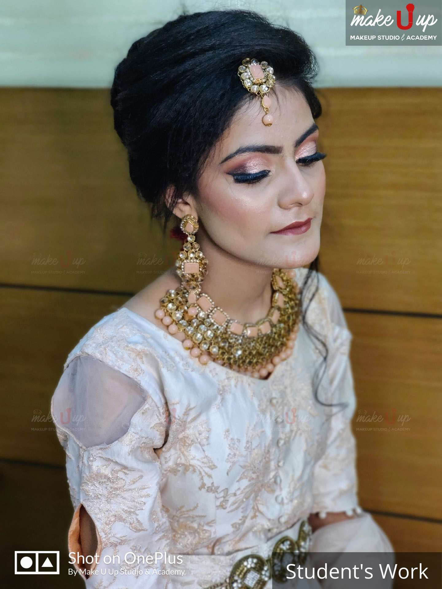 indian party makeup and hairstyles