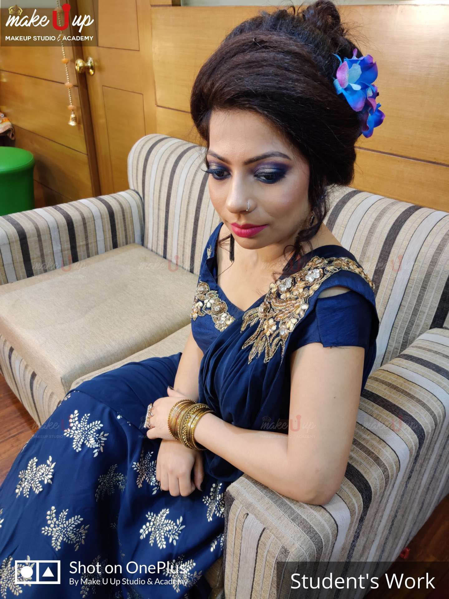 party makeup and hairstyles