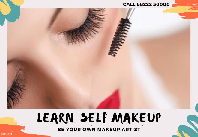 Learn Self Makeup in Delhi