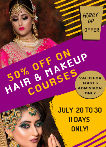 NSDC affiliated makeup academy in Delhi